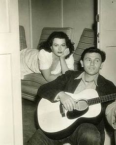 """John Garfield and Hedy Lamarr in """"Tortilla Flat""""  Danny would remain one of Garfield's favorite roles. """"Getting something like this, something so real you can reach out and put your hand on it, is like going back to the stage"""", he told journalist Charles Darnton."""