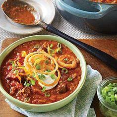 Quick Beef Chili | MyRecipes.com