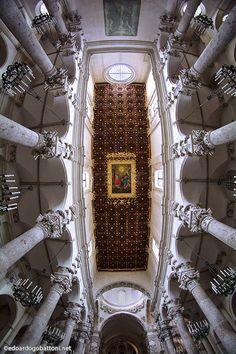 Basilica's ceiling
