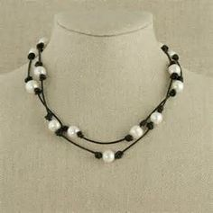 make your own pearl and leather jewelry - Bing Images