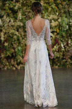Gown by Claire Pettibone.Check out more gorgeous dresses in our Claire Pettibone wedding gown gallery ►