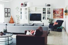 A Modern Family Home in Abu Dhabi – AphroChic: Modern Global Interior Decorating