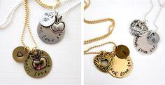 HOLIDAY TEACHER GIFT Teach Love Inspire Necklace