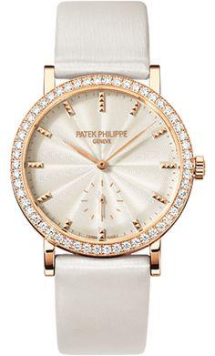 7120R-001 Patek Philippe Calatrava Womens 18K Rose Gold Watch | WatchesOnNet.com