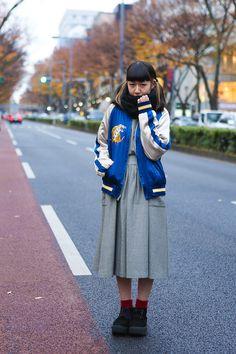ストリートスナップ [nici] | BELLY BUTTON, TOKYO BOPPER, used, 古着 | 表参道 | Fashionsnap.com