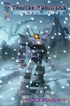 The Transformers: Spotlight Shockwave