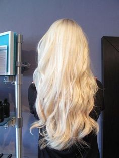Gorgeous Bleach Blonde - Hairstyles How To