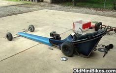 Mini Dragster Go Kart