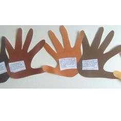 Martin Luther King Day Banner Craft - Re-pinned by @PediaStaff – Please Visit http://ht.ly/63sNt for all our pediatric therapy pins