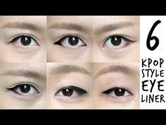 6 K-pop Inspired Korean Style Eyeliners Tutorial | MADOKEKI makeup reviews, tutorials, and beauty