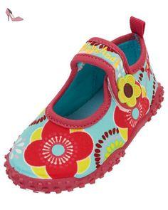 db6e7f04b8 Playshoes Aquaschuhe, Badeschuhe Blumen mit höchstem UV-Schutz nach  Standard 801, Chaussures de