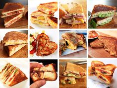 12 awesome grilled sandwiches
