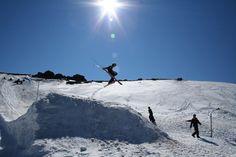 Ski Grab by Natalie Hampel on 500px
