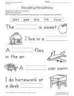 first grade worksheets