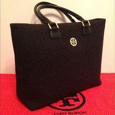 "Spotted while shopping on Poshmark: ""Tory Burch Black Bag""! #poshmark #fashion #shopping #style #Tory Burch #Handbags"
