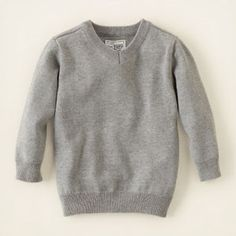 Simple & classic Children's place v-neck sweater