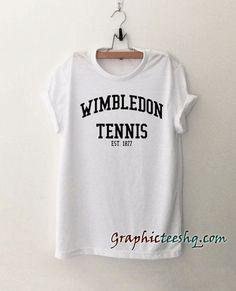 Wimbledon Tennis est.1877 Tee Shirt
