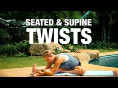 Seated & Supine Twists Yoga Class - Five Parks Yoga - YouTube