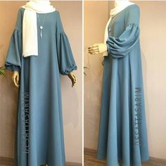 Hijab Fashion Inspiration - Another! Abaya Fashion, Muslim Fashion, Modest Fashion, Fashion Outfits, Fashion Muslimah, Hijab Style Dress, Hijab Chic, Hijab Outfit, Modest Dresses