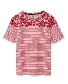 Tory Burch Red Pepper Cathy T-Shirt