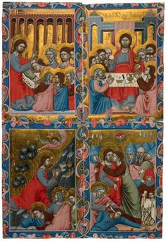 Scenes from the Life of Christ | MS M.360.10 | The Morgan Library & Museum