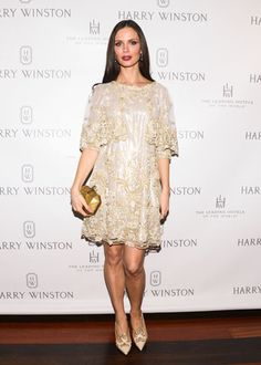 Harry Winston Hosts a Dinner for Jessica Chastian & The Heiress: Georgina Chapman in Marchesa