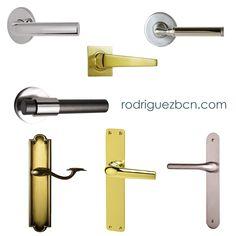 Si estás pensando en cambiar las manetas de tus puertas acércate a cualquiera de nuestras tiendas en Barcelona. Te sorprenderá la cantidad de modelos que tenemos para escoger. Te esperamos. www.rodriguezbcn.com