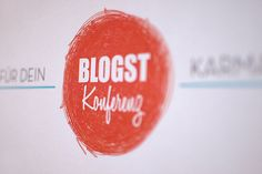 Blogst12 Konferenz by studiohzwei, via Flickr