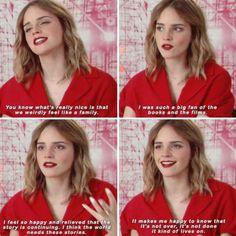 Emma Watson on Harry Potter