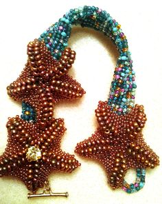 Starfish:   River Run Bracelets:         Phoenix Rising Bracelet:     My computer is having issues so pictures will have to do for now!   ...