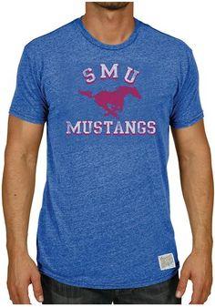 SMU Mustangs Mens Retro Brand Short Sleeve T-Shirt http://www.rallyhouse.com/shop/original-retro-brand-smu-mustangs-mens-short-sleeve-fashion-tshirt-royal-4810664?utm_source=pinterest&utm_medium=social&utm_campaign=Pinterest-SMUMustangs $32.99