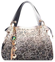 4e18d9ccb1de Tinksky Classic Fashion Tote Handbag Leather Shoulder Bag Perfect Large  Tote Designer Totes