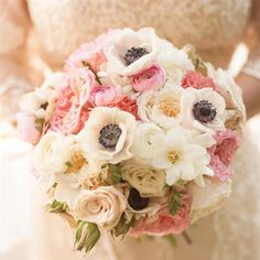 Blush and Ivory Bridal Bouquet | Laura Yang Photography | TheKnot.com