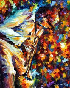 Miles Davis - Gold Trumpet Poster by Leonid Afremov Lilac Painting, Painting Snow, Autumn Painting, Love Painting, Oil Painting On Canvas, Miles Davis, Clown Paintings, Oil Paintings, Night Sky Painting