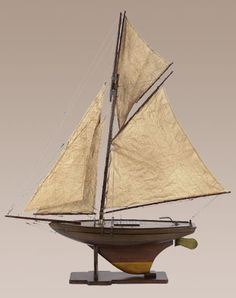 Authentic Models Victorian Pond Yacht