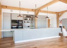 A-Zero turns an English cow shed into a timber-framed family home.