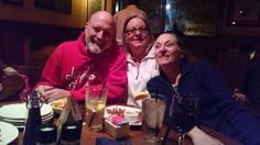 Ted, Mary, Janes my birthday 2014