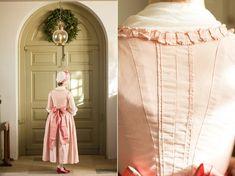 1770s Round Gown ·