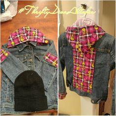 Custom #tweetybird denim jacket Custom #tweetybird denim jacket GAP Jackets & Coats Jean Jackets