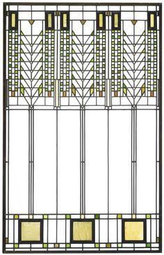 Tree of Life  Darwin D. Martin  Buffalo, New York  1903-1905  6 Buildings  Almost 400 Hundred Windows  25 Variations  1935,1954,1962