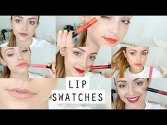 Ofra Long Lasting Liquid Lipsticks | Lip Swatches & Mini Review. Might help me pick colors. I think I like Bel Air, Pasadena, Laguna Beach (these are soooo similar though!) and Mina