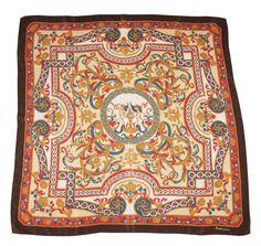 Rare Saldarini  Authentic Design Vintage Silk by DorisVintage