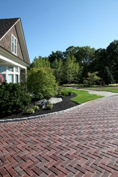Town Hall™ driveway available at Van Beeks Garden Supplies