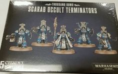 40K Miniatures 183473: Warhammer 40K Horus Heresy Thousand Sons Scarab Occult Terminators -> BUY IT NOW ONLY: $49.99 on eBay!