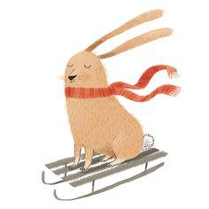 Easter bunny. Illus: Ina Hattenhauer 2013