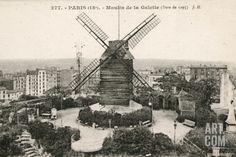 Moulin de La Galette Photographic Print at Art.com