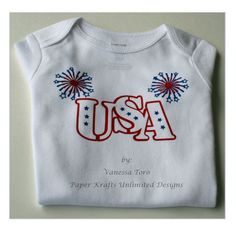4th of July Onesie, Independence Day Baby Onesie, My First 4th of July Onesie