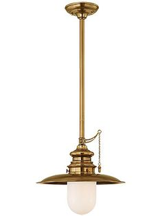 """Kendall Stem Pendant With 15"""" Shade 