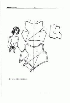 Chinese method of pattern making- Darts on a bodice - SSvetLanaV - Picasa Web Albümleri