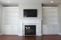 The Custom Built-ins started out with lots of research, and like many DIY project we looked to Pinterest and Houzz for inspiration. You can follow me on Pinterest here and Houzz here. A lot of love and time went into this project and in this post you will learn how the cabinets were made. The